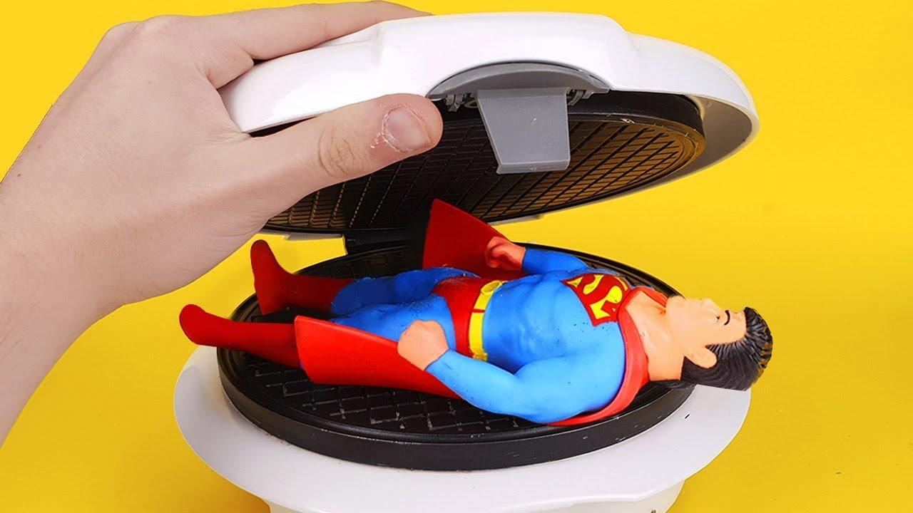 experiment-waffle-maker-vs-stretch-superman
