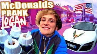 LOGAN PAUL McDonald's Roulette - McDonalds PRANK