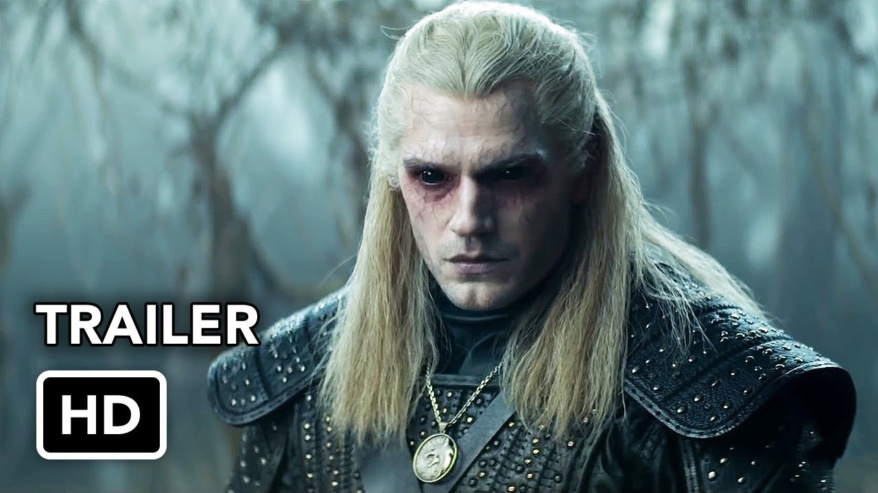 The Witcher Trailer (HD) Henry Cavill Netflix series