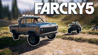 Far Cry 5 - Exploring Vehicles Physics! + Bear VS Deer | SLAPTrain