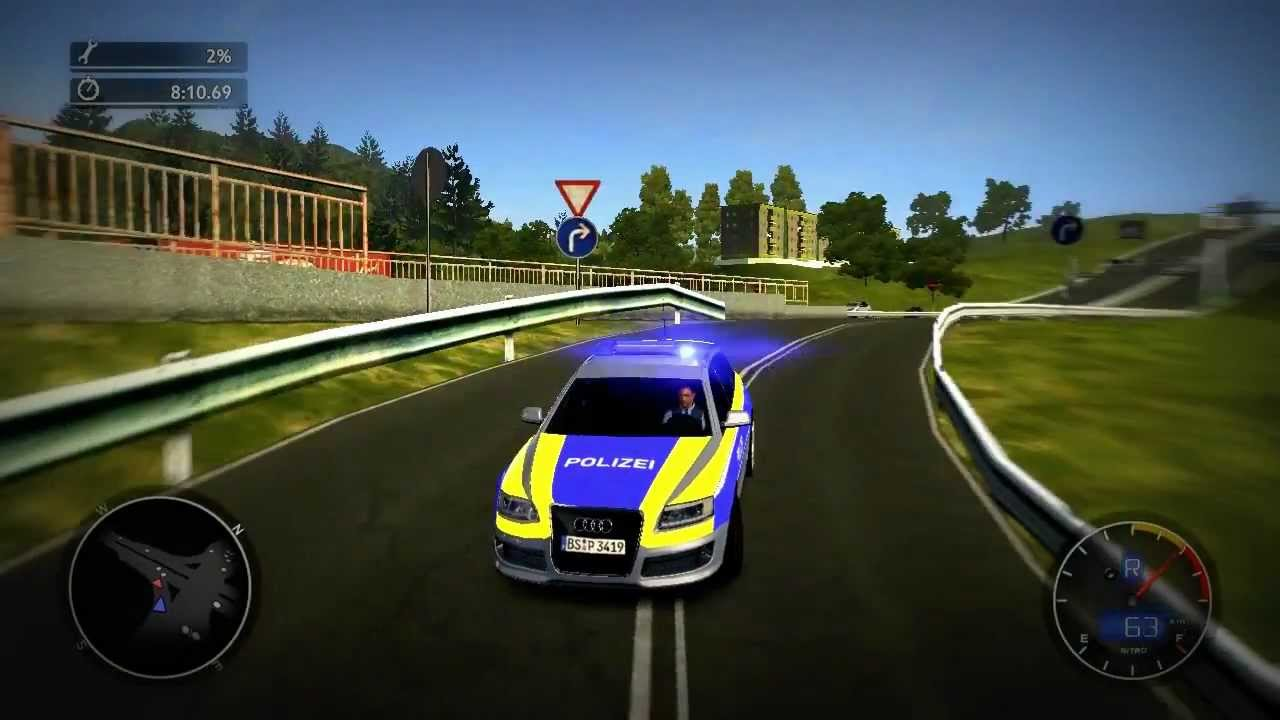 Alarm F 252 R Cobra 11 Das Syndikat Audi Avant Autobahn