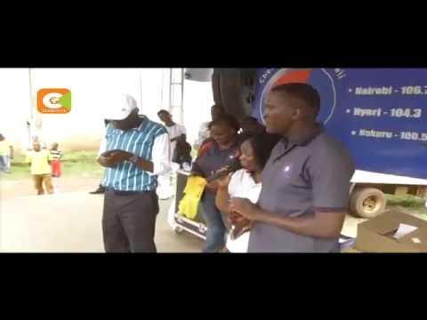 Watangazaji wa Radio Citizen watinga Kisii