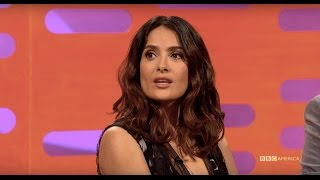 Salma Hayek Pretended to Have An Affair To Save a Puppy - The Graham Norton Show