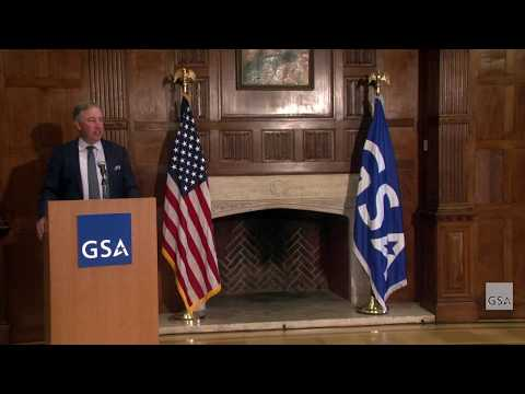Federal Acquisition Service Commissioner Alan Thomas Swearing-In Ceremony