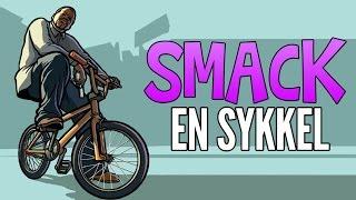SMACK EN SYKKEL - Grand Theft Auto 5 / Norsk GTA