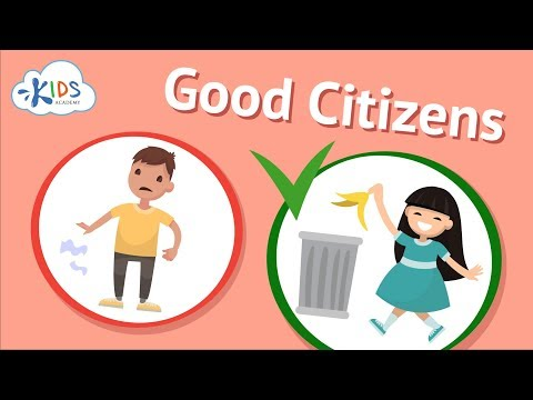 Good Citizenship & Social Skills For Kids | Being A Good Citizen | Kids Academy