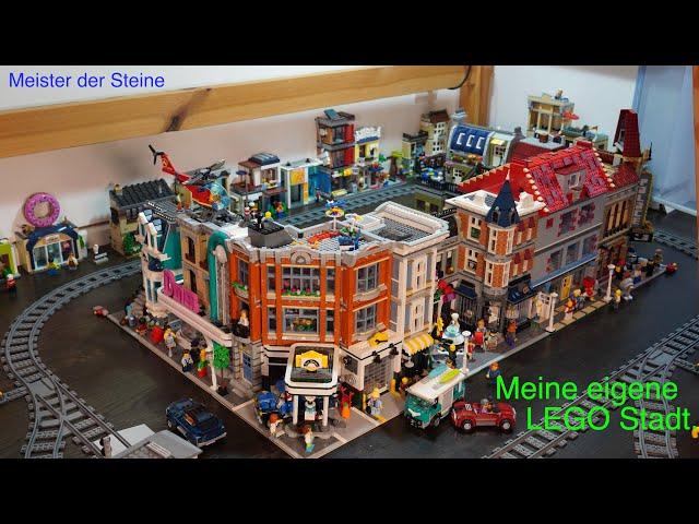 Meister der Steine, Meine eigene Lego Stadt, My own Lego city