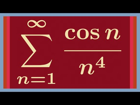 An Interesting Infinite Sum, Featuring Fourier Series.