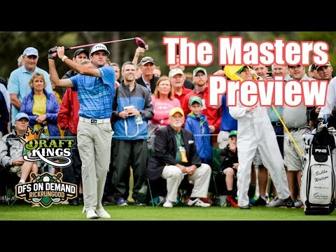The Masters Preview & Picks 2019 - DraftKings