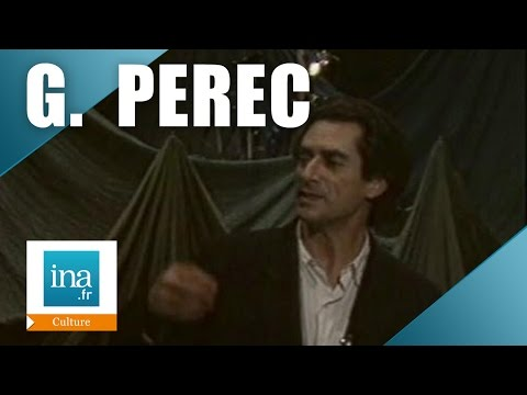 "Sami Frey : ""Je me souviens"" de Georges Perec | Archive INA"