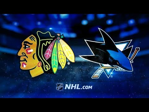 CHICAGO BLACKHAWKS VS SAN JOSE SHARKS 3/1/18