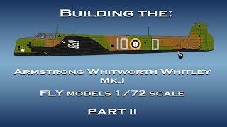 Gebäude der AW Whitley 1/72 Modell - Teil II