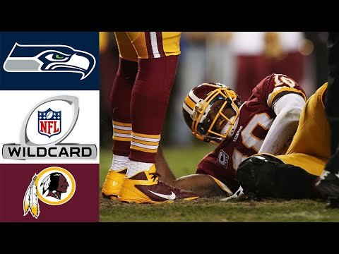 Seahawks Vs Redskins 2012 NFC Wild Card