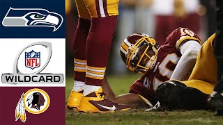 Seahawks vs Redskins 2012 NFC Wild Card