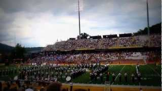 Appalachian State University Marching Band- Pre-Game Show