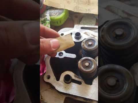 How to clean dirt bike/atv head surfaces