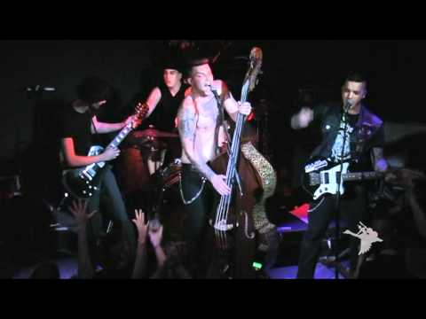 Sir Psyko & His Monsters. Russia. Live in St.Petersburg 10.12.2011