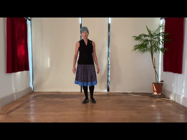 Swedish Folk Minuet #1 - Intro, basic step pattern