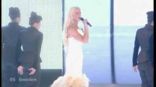 Eurovision 2009 First Semi-final - Sweden (HQ)