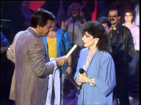 Dick Clark Interviews Miami Sound Machine - American Bandstand 1985