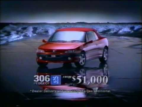 Peugeot 306 Cabriolet 1999 TV ad, Ice Lake