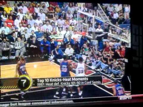 Top 10 Knicks vs. Heats moments!!