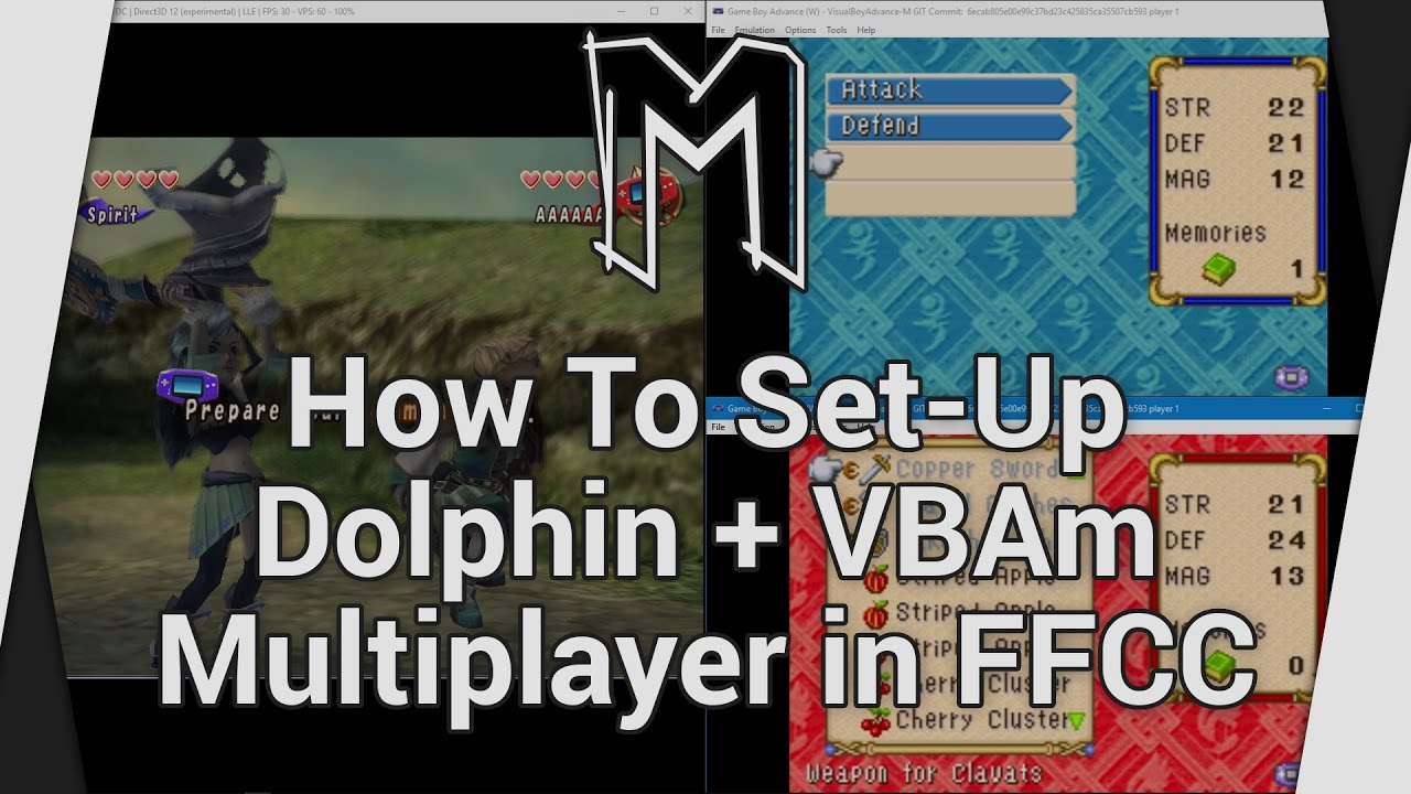 How To Set-Up Dolphin + VBAm Multiplayer in Final Fantasy Crystal  Chronicles - Topic