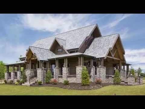 Honest Abe Log Homes Cambridge Model Crossville Tn Youtube