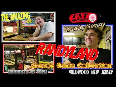 #1270  Arcade Game PARADISE! Exclusive RANDYLAND Tour with RANDY SIENNA! WIldwood NJ-TNT Amusements