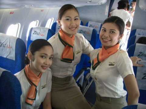 Zest Air Flight Attendants