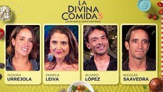 La Divina Comida - Isidora Urrejola, Pamela Leiva, Álvaro López y Nicolás Saavedra