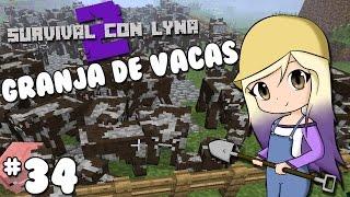 GRANJA  AUTOMATICA DE VACAS | Survival con Lyna 2 | Episodio 34