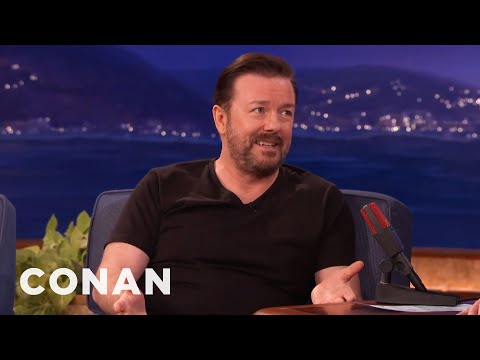 Thumbnail: The Ricky Gervais Joke That's Too Hot For The Golden Globes - CONAN on TBS
