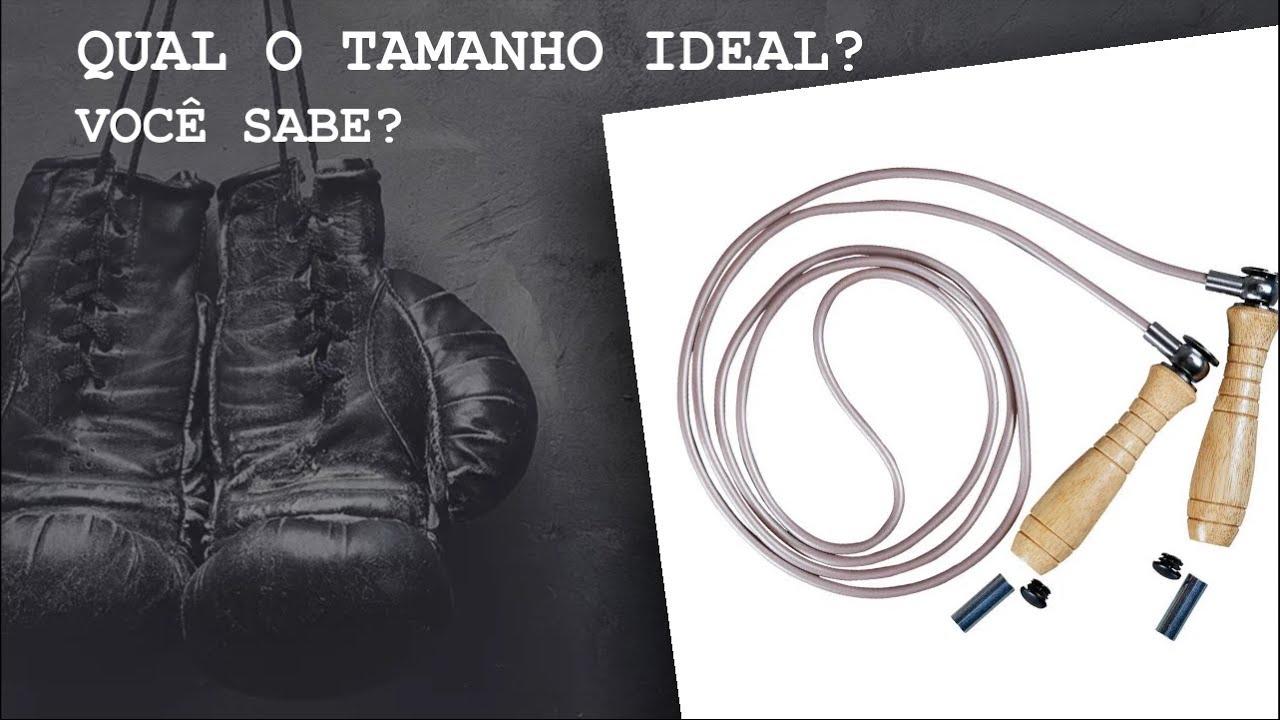 Qual o tamanho ideal para pular corda?