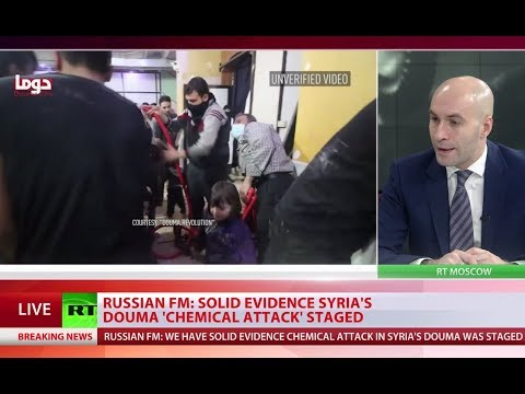 Solid evidence Douma 'chemical attack' was staged – Lavrov