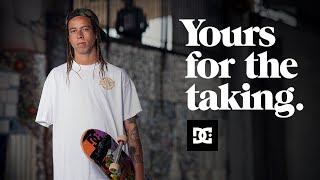 DC SHOES : LEFTY  YOURS FOR THE TAKING