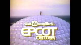 This Is Epcot Center Commercial 1989
