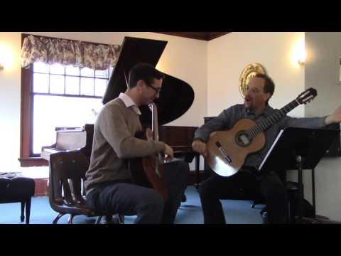 Masterclass with Wm. Kanengiser - Danza Negra and Vals from Suite Venezolana, Antonio Lauro