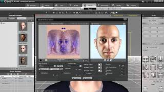 iClone 5 Tutorial - 2D Photo to 3D Head
