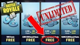 UNLIMITED V BUCK GLITCH 25$ For 13500!? Fortnite Battle Royale! (GLITCH)