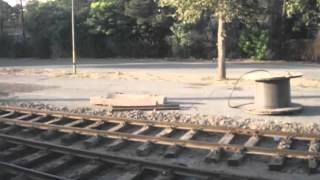 Arriving to Karaj by train