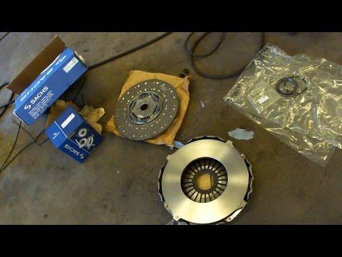 Установка сцепления SCANIA R Seria Cluch Install