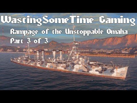 Omaha Cruiser Rampage World of Warships 7 destroyed