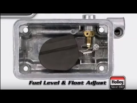holley carb float adjustment fuel level how to adjust tutorial rh youtube com holley 2 barrel carburetor diagram holley carburetor exploded diagrams