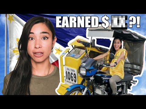 I Tried Working As A Tricycle Driver (PHILIPPINES)