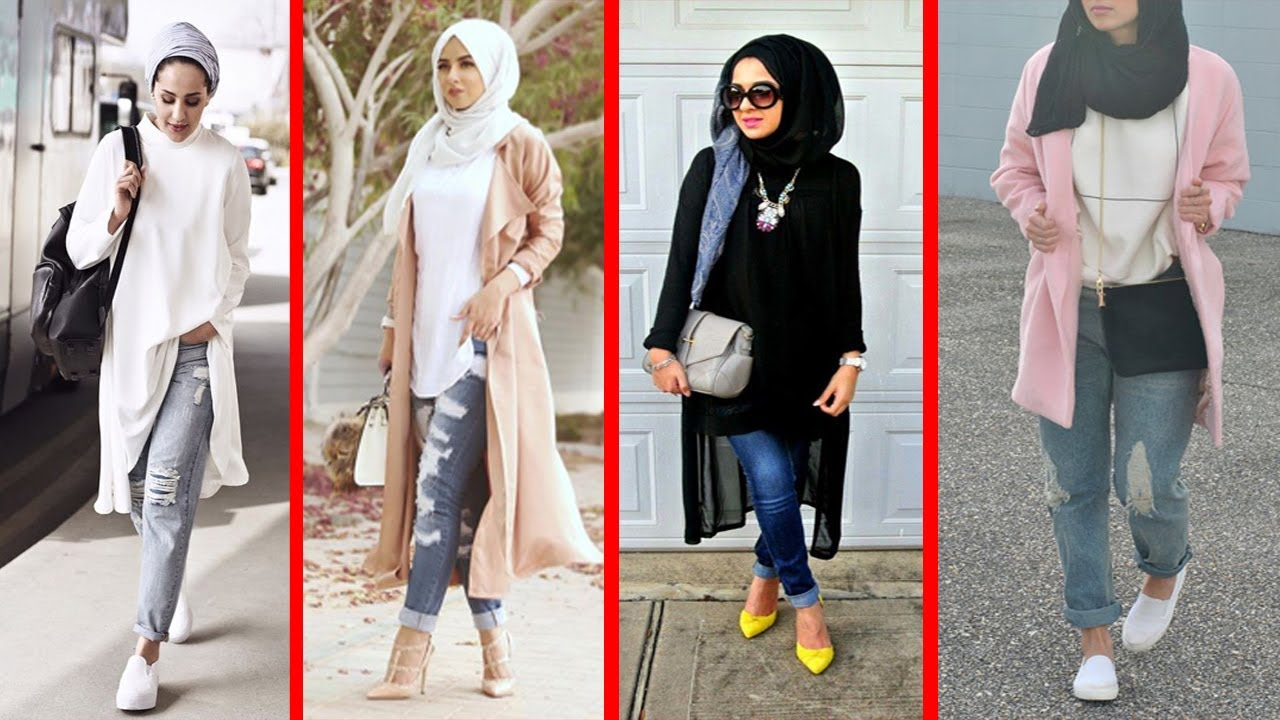 Fashion Style Hijab Casual Outfits - Hijab Casual with ...