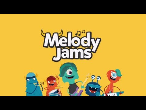 Melody Jams - Review and Preview - Music Game Monster App For Kids