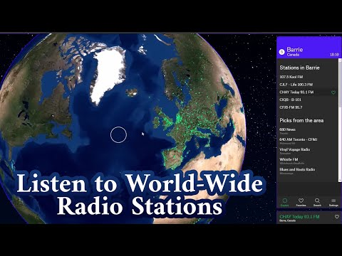 Listen to World-Wide Radio Stations FREE with Radio Garden