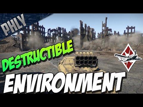 War Thunder 1.53 - DESTRUCTIBLE ENVIRONMENT - Update 1.53 'Firestorm'!