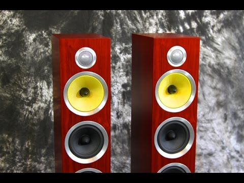 Stereo Design B Amp W Bowers Amp Wilkins Cm8 S2 Speakers Youtube
